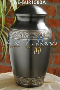 Fairborn Slate Brass Memorial Urn