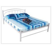 Metal Bed With Panel