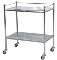 Hospital Metal Trolley