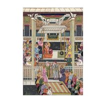 Mughal Court Scenes Paintings