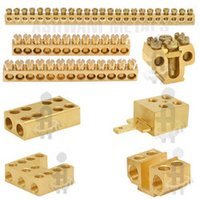 Brass Neutral Links & Terminals Blocks
