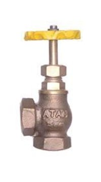 Bronze Angle Wheel Valve Right Angle Pattern