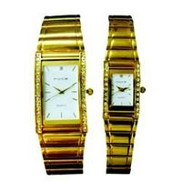 Golden Wrist Watch