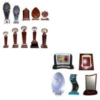 Crystal Trophies and Mementos