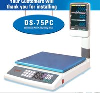 Price Computing Scale Ds-75pc 