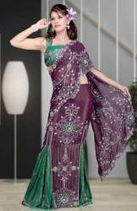 Fantastic Embroidery Border Saree