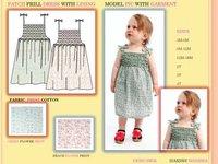 Kids Patch Frill Dress