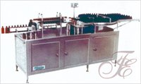Automatic Bottles Jars Air Jet and Vacuum Cleaning Machine