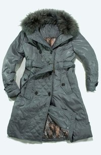 Ladies Winter Long Down Coats