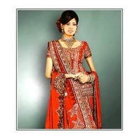 Wedding Silk Lehenga Cholis