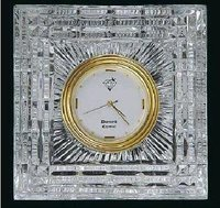 Square Shape Crystal Clock