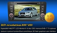 Car DVD GPS for AUDI A3 with Radio, TV, Bluetooth, Reawview, MP3, MP4