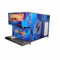 250 Glass Capacity Soda Shop Machine