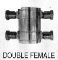 Double Female Adaptors