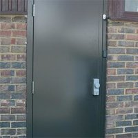 Hollow Metal Pressed-Steel Door