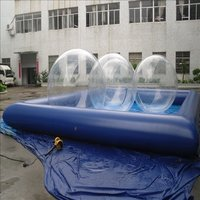 Inflatable Swimming Pool And Water Ball
