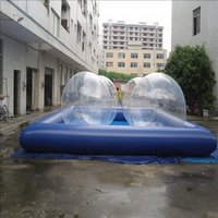 Inflatable Water Ball And Swimming Pool