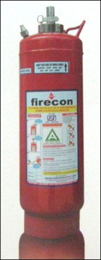 Water Type Fire Extinguisher Gas Cartridge