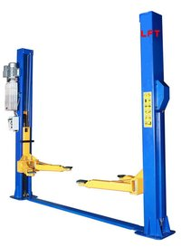 Two Post Floor Plate Hydraulic Car Hoist
