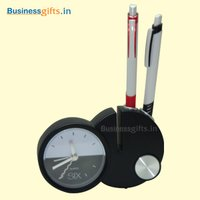 Alarm Clock With Pen Holder