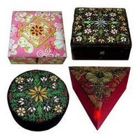 Hand Embroidered ZARI Boxes