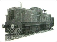 Diesel Hydrostatic Twin Power Pack Locomotive