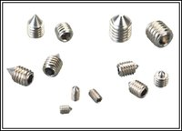 DIN914, (4.8,6.8,8.8,10.9.12.9) Hexagon Socket Set Screws with Cone Point