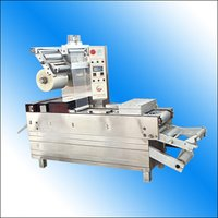 Fully-Automatic Stretch Vacuum Packaging Machine