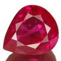 Ruby Cut Gemstone