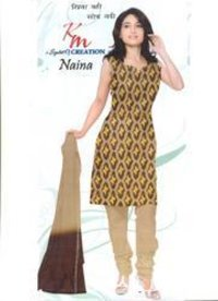 Unstitched Ladies Salwar Suits