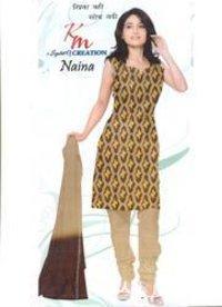 Unstitched Ladies Salwar Suits