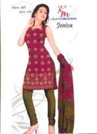 Unstitched Ladies Cotton Dress Material