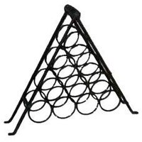 Iron Made Triangular Bottle Rack