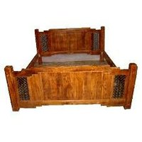 Sheesham Wood Made Bed