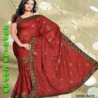 Faux Brasso Saree