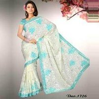 Embroidered Casual Wear Saree
