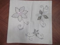 Flower Embroidery Cushion Covers