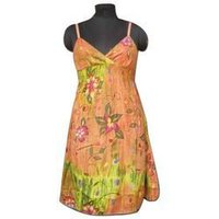 Sleevless Ladies Gown