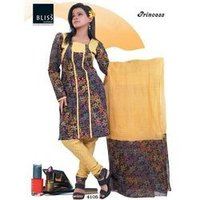 Cotton Printed ladies salwar suit