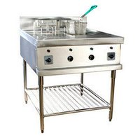 Double Tank Deep Fat Fryer