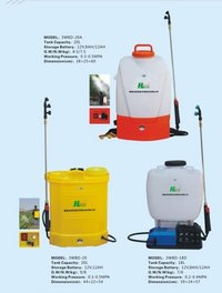 Battery Operated Tea Spraying Machine