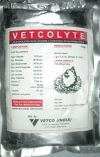 Vetcolyte (Electrolyte Supplement With Vitamin C)