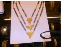 Gold Necklace (Mangalsutra)