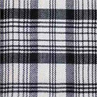 Silk Check Fabric
