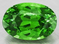 Demantoid Green Gemstone