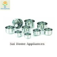 Round Bottom Stainless Steel Topes