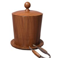 Wooden Icebucket Tong