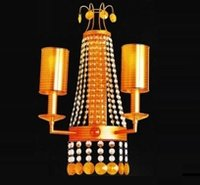 Decorative Copper Crystal Chandeliers