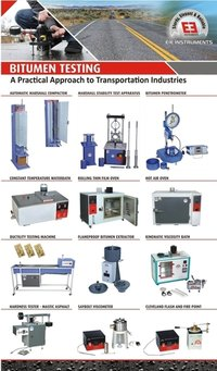 Bitumen Testing Equipments
