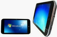 "10.2"" Capacitive Multi Touch screen Intel N1001, Atom N450 1.66GHZ Windows 7, Camera Wifi 3G Tablet PC"
